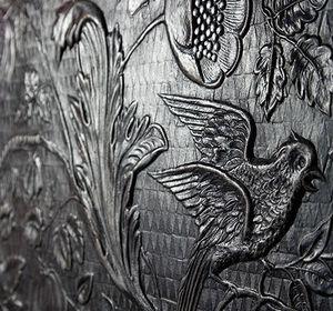 Christophe Fey Concept - cuir de cordoue contemporain ou traditionnel - Baldosa De Cuero