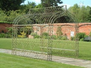 GARDEN ART PLUS - metal arbour - Arco