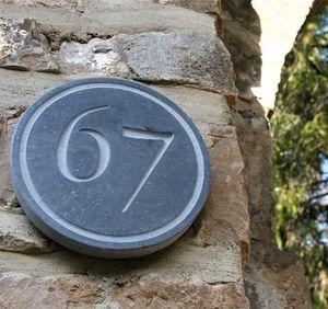 La Pierre - rondo - Número De Puerta
