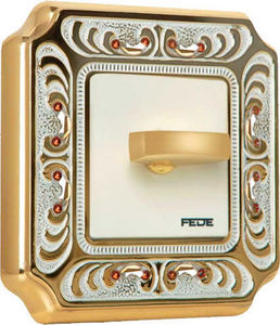 FEDE - palace crystal de luxe siena collection - Interruptor Rotativo
