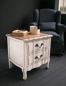 BLEU PROVENCE - vintage white - Mueble Auxiliar