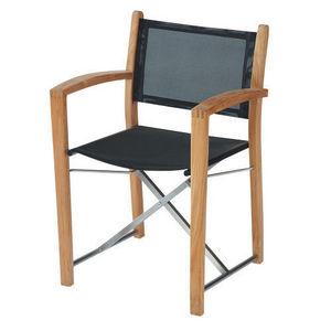 MAISONS DU MONDE - fauteuil noir capri - Sillón De Jardín