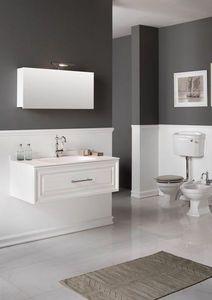 BLEU PROVENCE - meuble charme 2 - Mueble De Cuarto De Baño