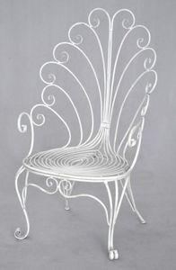 Demeure et Jardin - fauteuil trone collection paon - Sillón De Jardín