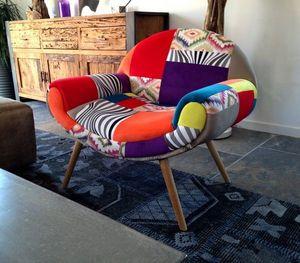 Mathi Design - fauteuil hippie chic - Sillón