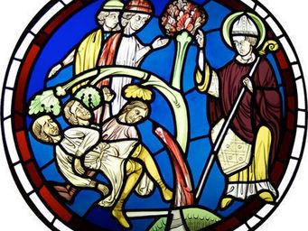 Atelier 1..2..3 vitrail - saint martin - Vidriera
