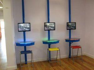 I-Desk Solutions - i-cyber - Mueble Para Ordenador