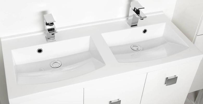 Mueble de baño dos senos - Allibert   Decofinder