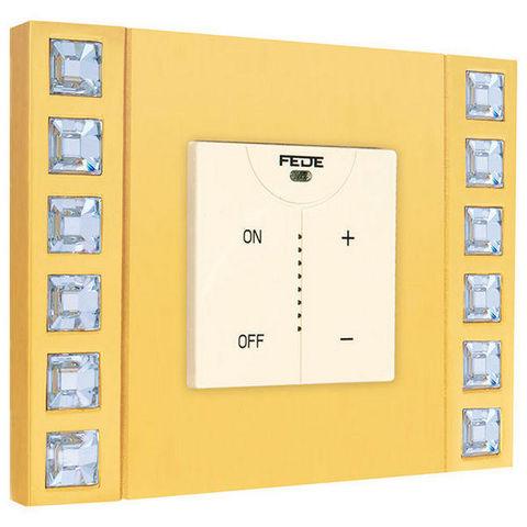 FEDE - Termostato electrónico-FEDE-CRYSTAL DE LUXE VELVET COLLECTION