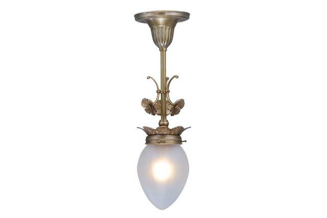 PATINAS - Candelero con cristales colgantes-PATINAS-Lyon pendant