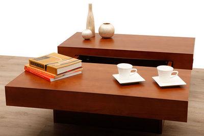 Miliboo - Mesa de centro rectangular-Miliboo-LAUREEN TABLE BASSE