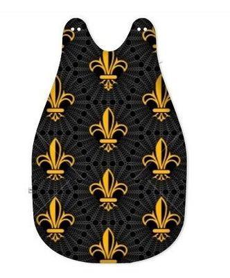 Rideau-voile - Saco de dormir para bebés-Rideau-voile-Gigoteuse motif Empire luxe bébé enfant