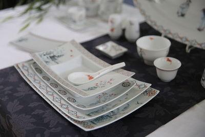 FRADKOF - Set de accesorios de mesa-FRADKOF-Ombres Chinoises