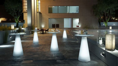 Lyxo by Veca - Mesa alta luminosa-Lyxo by Veca-Tiffany luminoso