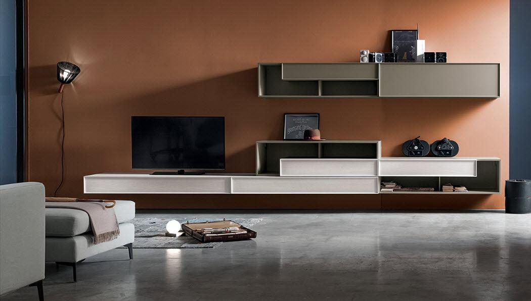 Santalucia Mobile per soggiorno Credenze, buffet e mobili soggiorno Armadi, Cassettoni e Librerie  |