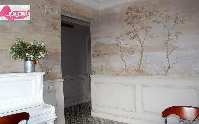 carol moreno Decorazione murale Decorazioni murali Pareti & Soffitti Salotto-Bar | Classico