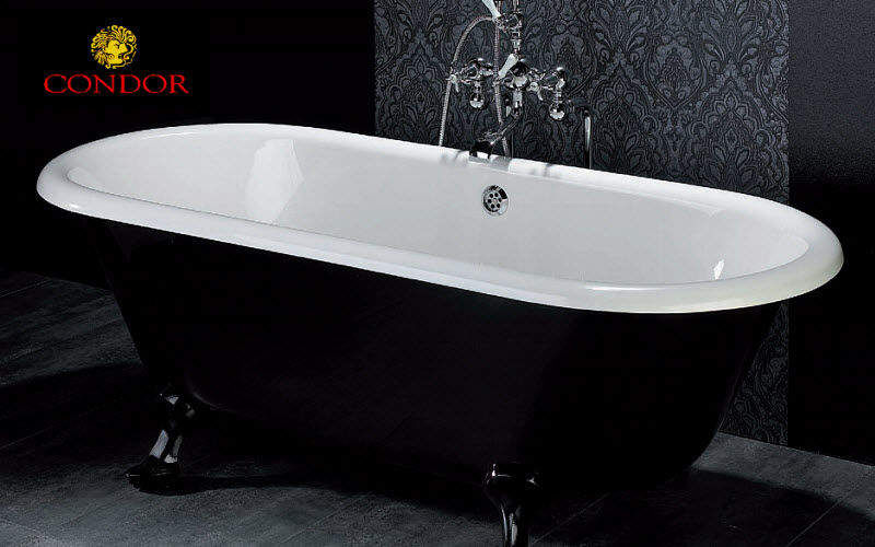 Vasca da bagno con piedini   vasche da bagno   decofinder