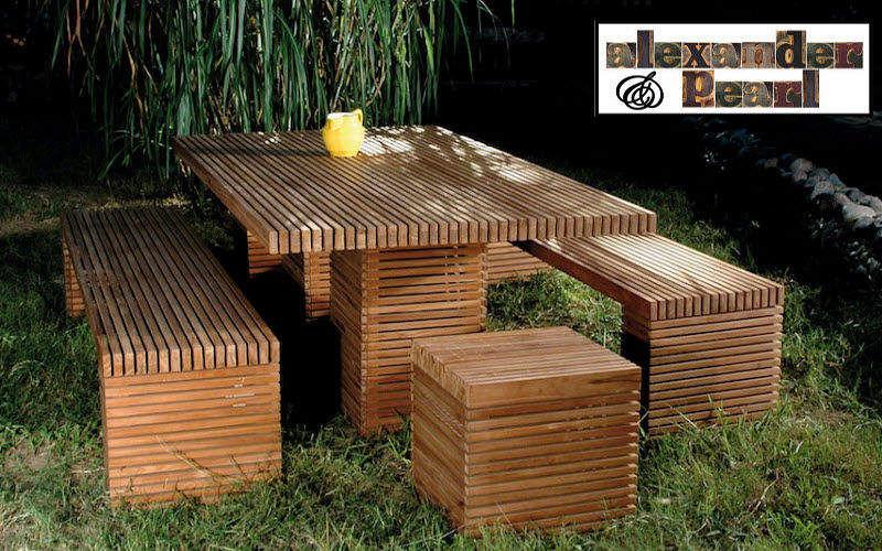ALEXANDER PEARL Set tavolo e sedie da giardino Tavoli da giardino Giardino Arredo  |