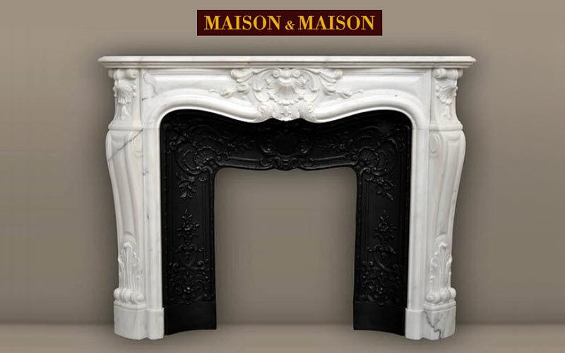 MAISON & MAISON Camino con focolare aperto Camini Camino  |