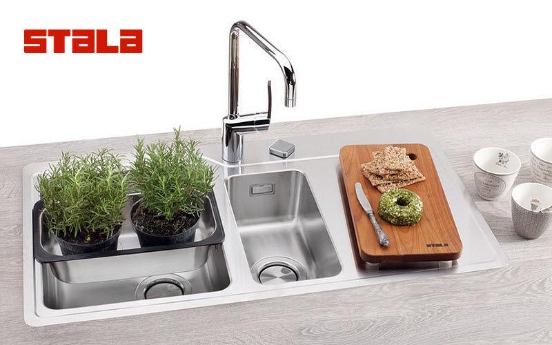 STALA Lavello a 2 vasche Lavelli Attrezzatura della cucina   |