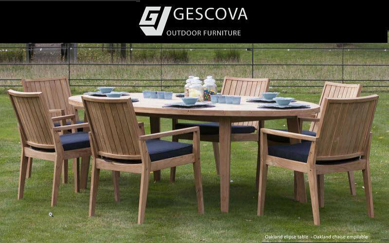 GESCOVA Set tavolo e sedie da giardino Tavoli da giardino Giardino Arredo  |
