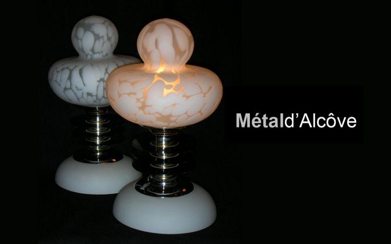 Metal D'alcove Eric Katz Lampada da tavolo Lampade Illuminazione Interno  | Eclettico