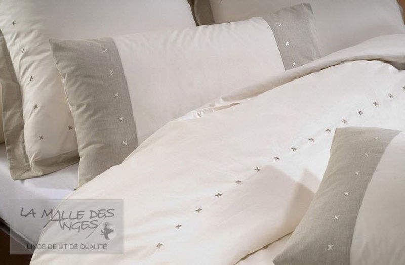 LA MALLE DES ANGES Federa per cuscino cilindrico Cuscini Guanciali Federe Biancheria  |