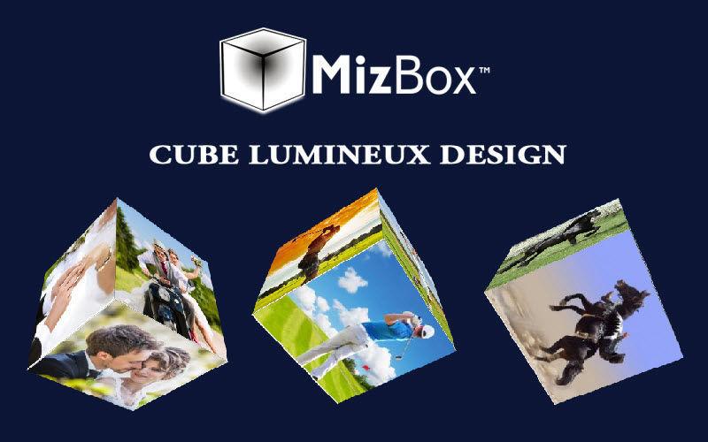 MIZ BOX Lampada da appoggio a led Lampade Illuminazione Interno  |