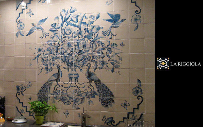 LA RIGGIOLA Pannello di ceramica Piastrelle da parete Pareti & Soffitti  |