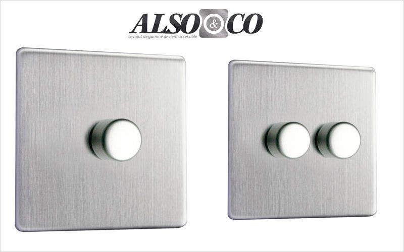 ALSO & CO Interruttore variatore Elettricità Illuminazione Interno  |