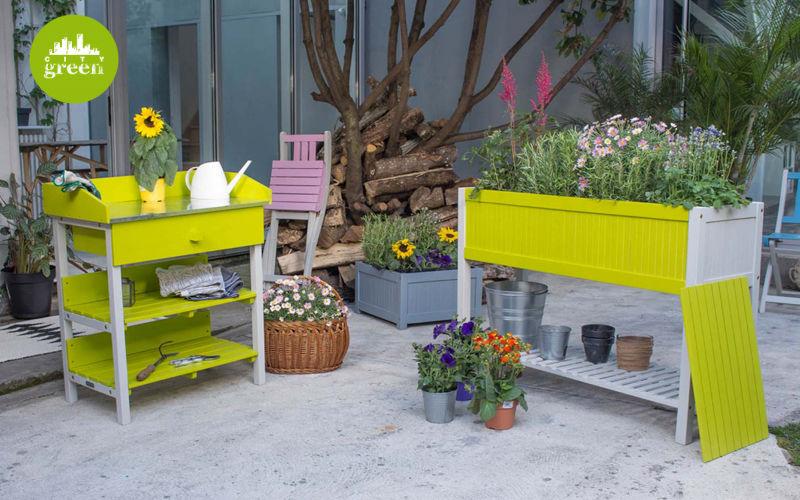 City Green Banco per rinvasare Giardinaggio Varie Giardino  |
