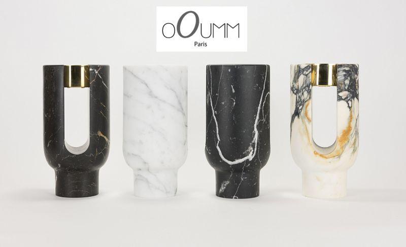 OOUMM Bicchiere portacandela Candele e candelabri Oggetti decorativi  |