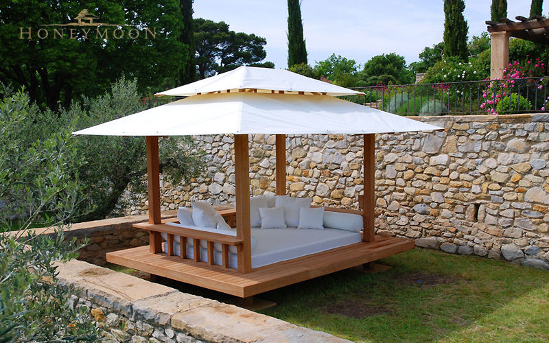 Honeymoon Gazebo fisso Tende Giardino Tettoie Cancelli...  |