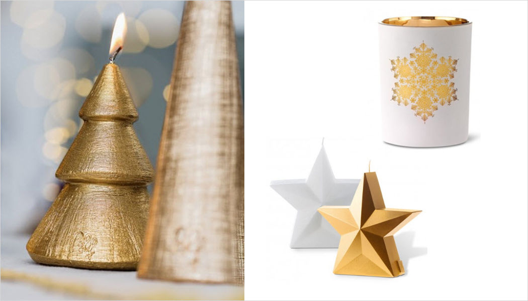 Bougies La Francaise Candela natalizia Addobbi natalizi Natale Cerimonie e Feste  |