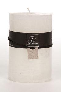 BELDEKO - bougie cylindre xl blanche - Candela Rotonda