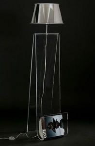 APPLYMAGE - lampadaire porte-revues light & news - Lampada Da Terra