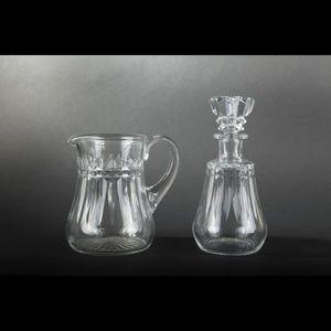 Expertissim - baccarat. service de verres en cristal modèle picc - Caraffa