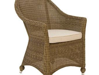 Alexander Rose - fauteuil haut colonial en aluminium et fibre synth - Poltrona Da Giardino