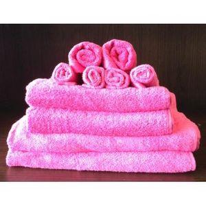 TODAY - set serviettes de bain lily roses - Asciugamano Toilette