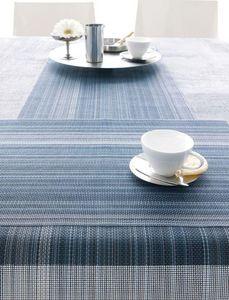 CHILEWICH - chambray multi stripe - Striscia Da Tavolo