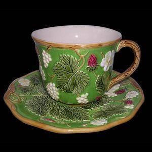 Au Bain Marie - tasse à déjeuner verte - Tazza Da Tè