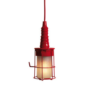 SELETTI - ubiqua - lampe baladeuse rouge | lampe à poser sel - Lampada A Sospensione