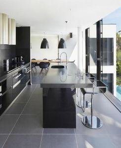 Agence Nuel / Ocre Bleu -  - Progetto Architettonico Per Interni Cucina