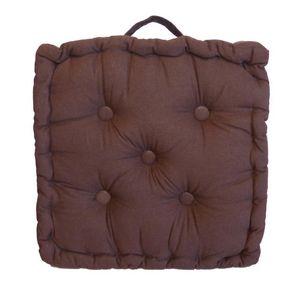 Cotton Wood - coussin de sol en coton 40 cm - Cuscino Da Pavimento