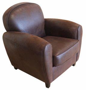 Cotton Wood - fauteuil club vintage grand classique - Poltrona Club