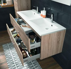 Allibert - verone - Mobile Con Doppio Lavabo