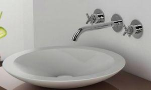 CasaLux Home Design -  - Miscelatore Lavandino 3 Fori