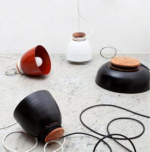 ABEL CÁRCAMO - roll industrial lamp - Lampada A Sospensione