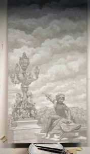 Atelier Follaco - pont alexandre iii - Decorazione Murale