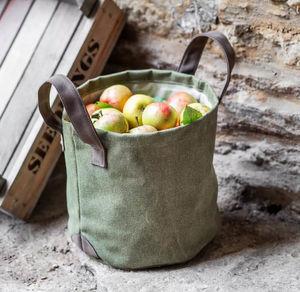 GARDEN TRADING - herbe ou pommes £15.00 - Sacco Raccogli Erba